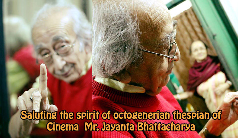 Saluting the passion of Mr. Jayanta Bhattacharya – Director Agragami