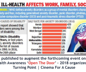 Mental Ill-Health Affects Work, Family, Social Life
