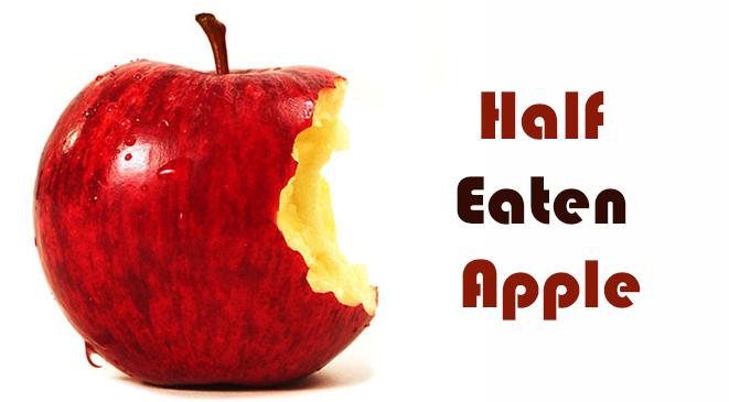 Half Eaten Apple – A short Story